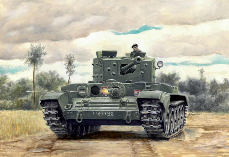 Auletta Vincenzo. Танки Cromwell Mk. IV.