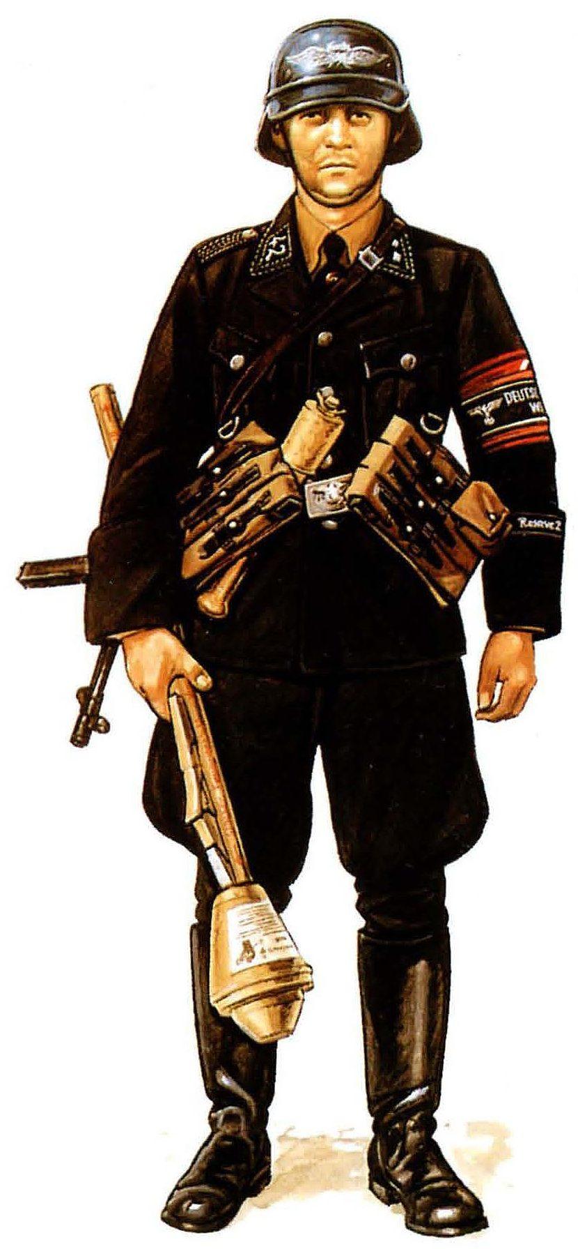 Hannon Paul. Солдат Volkssturm.