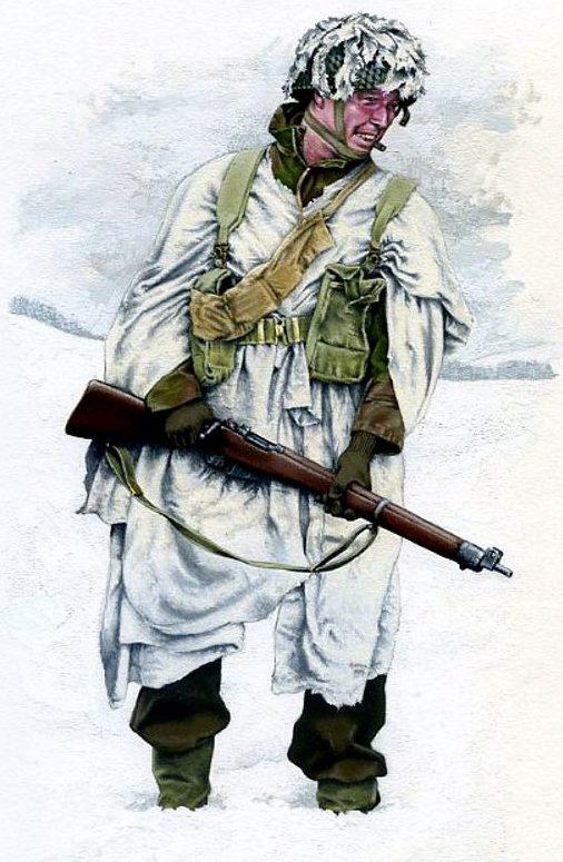 Chapman Rob. Британский солдат.