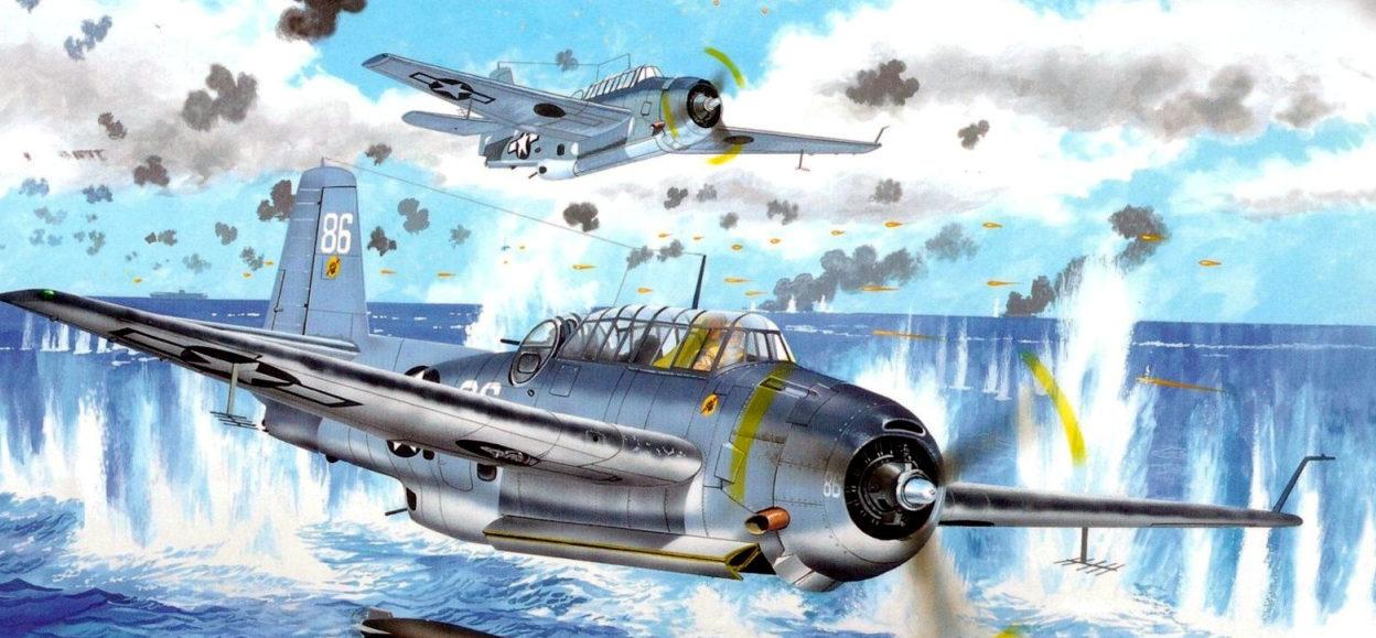Greer Don. Палубный бомбардировщик-торпедоносец «Avenger».