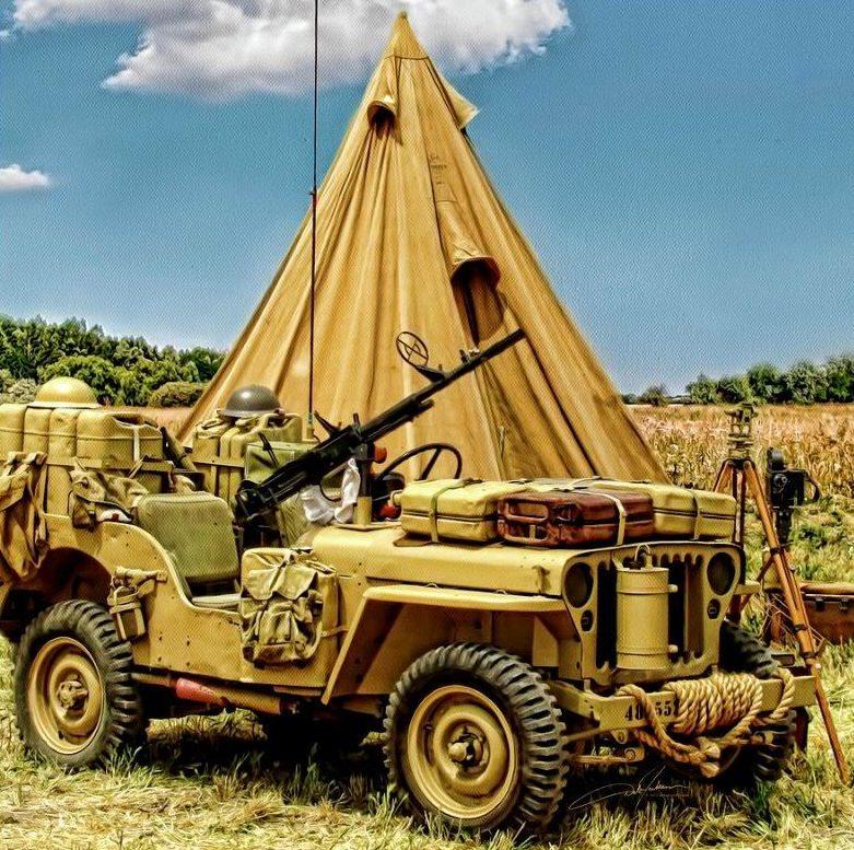 Jackson Dale. Внедорожник Jeep.