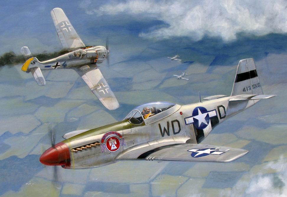 Weber Kevin. Истребитель P-51 «Mustang».