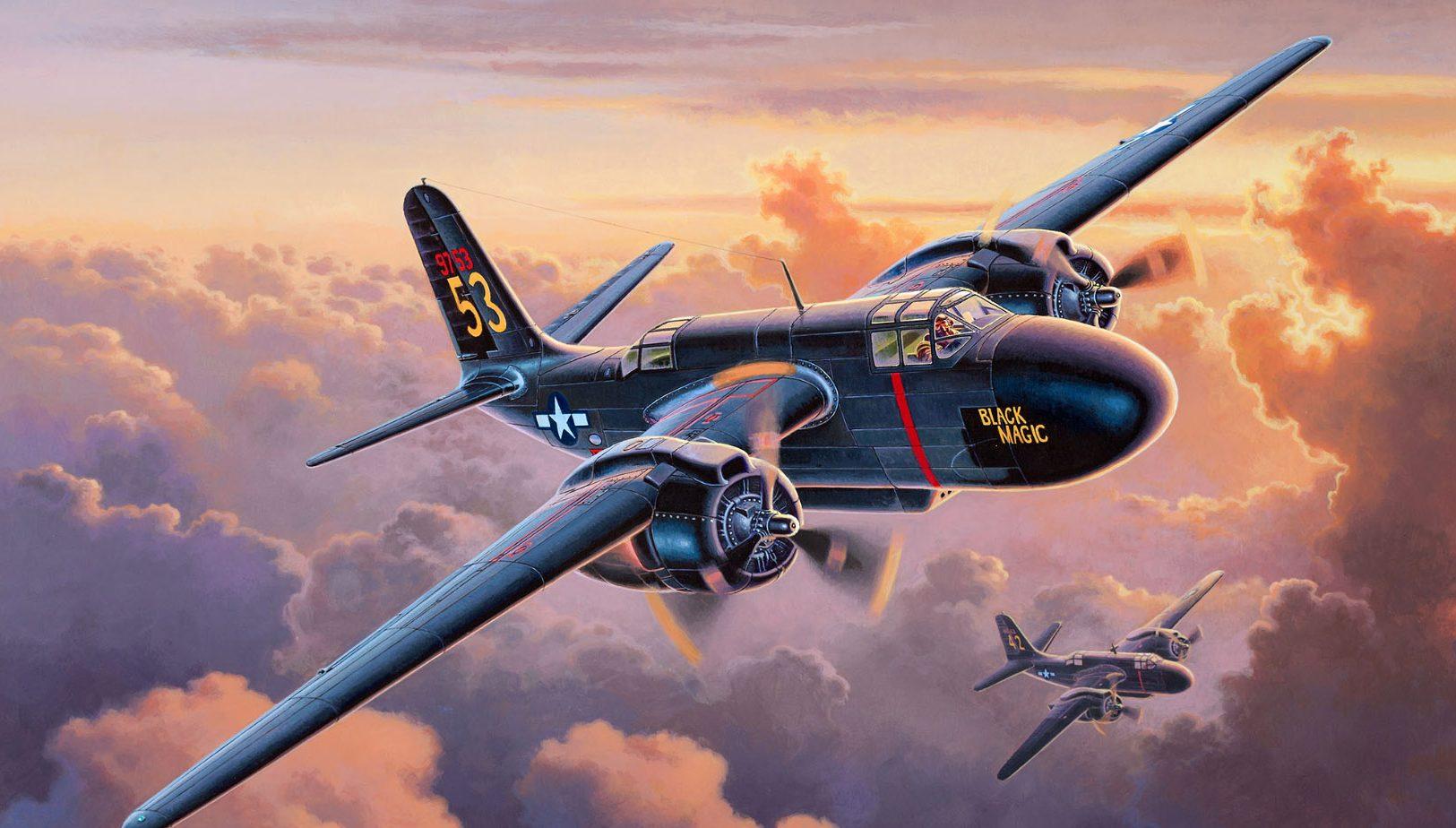 Deredos Andrzej. Ночной истребитель P-70 Nighthawk.