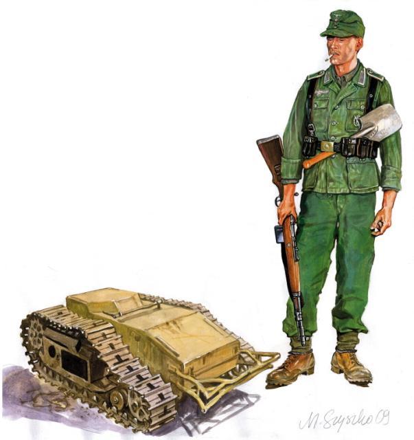 Szyzsko Marek. Сапер Вермахта.