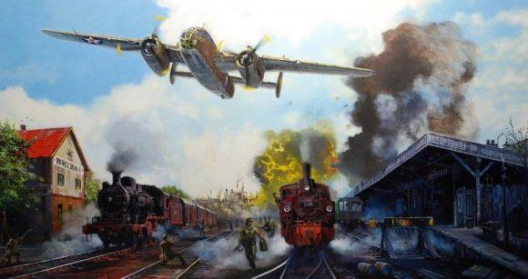 Bailey Robert. Удар по железной дороге.