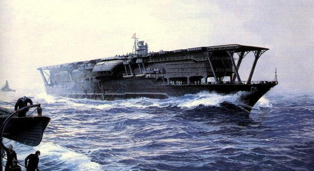 Freeman Tom. Авианосец «Akagi».