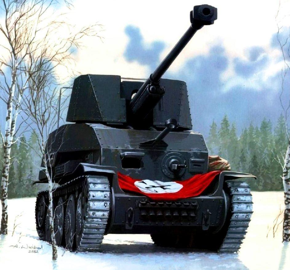 Wróbel Arkadiusz. САУ Marder III Sd.kfz. 139(r).