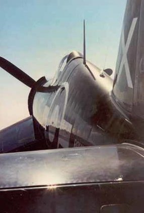 Thompson Charles. Истребитель «Corsair».
