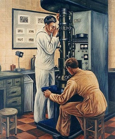 Andreson Carlos. Электронный микроскоп.