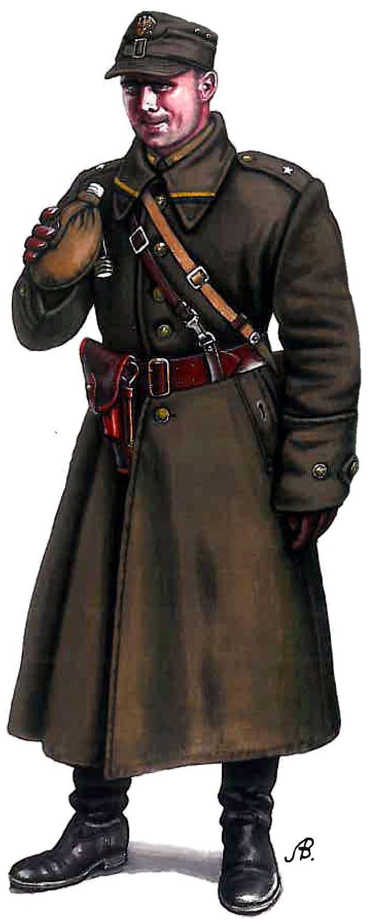 Bulczynki Arnold. Польский офицер.
