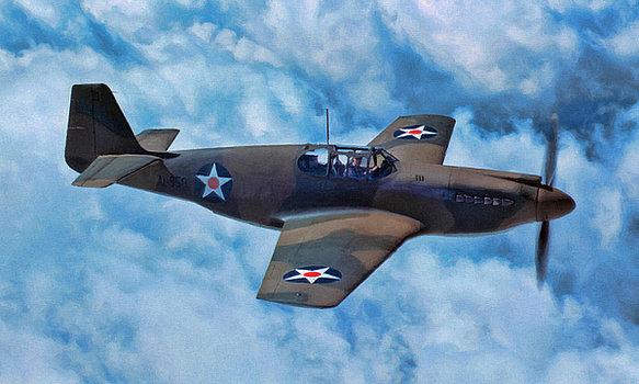 Jackson Dale. Истребитель Mustang Mk.I.