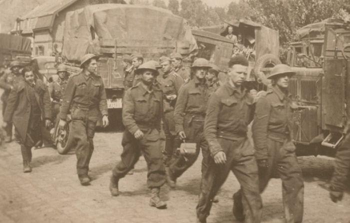 Выход британских войск из Дюнкерка. 26 мая 1940 г.