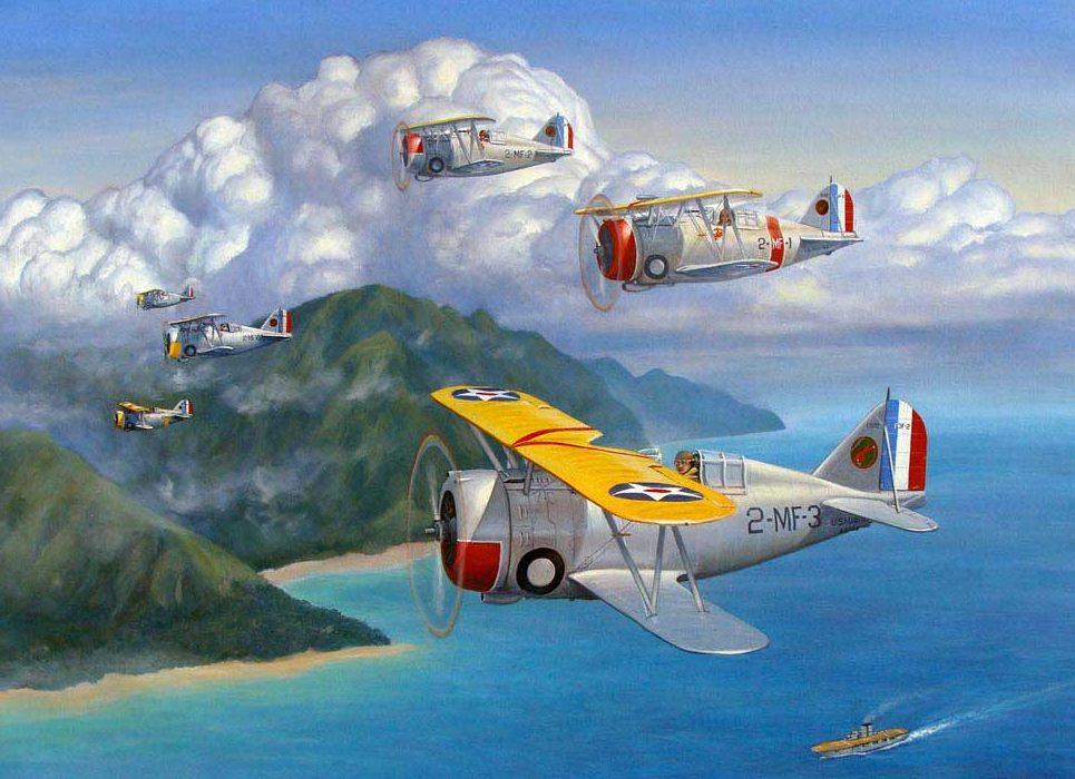 Weber Kevin. Истребители F3F-2.