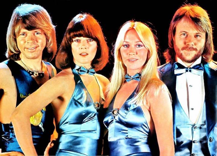 Шведская группа «АББА».