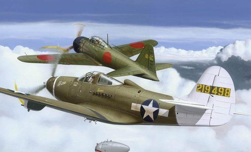 Kolacha Zbigniew. Истребители P-39 «Airacobra» и «Zero».