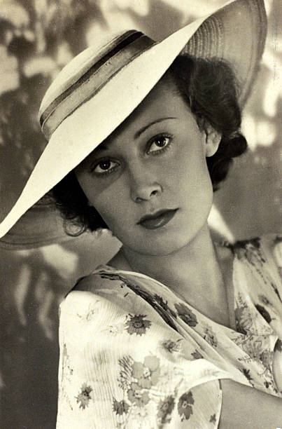 Лида Баарова - любовница Йозефа Геббельса.