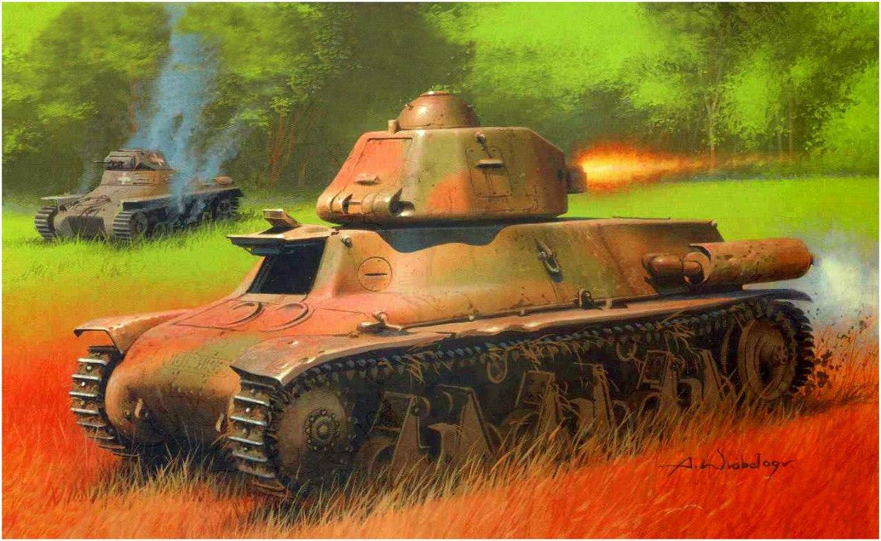 Wróbel Arkadiusz. Hotchkiss H-38.