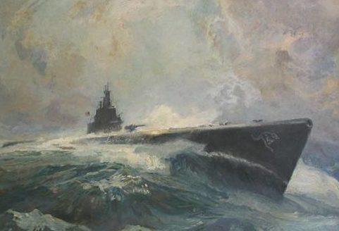 Barclay McClelland. Подлодка SS-215.