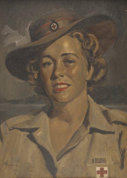 Mainwaring Geoffrey. Betty Bown из Красного Креста.
