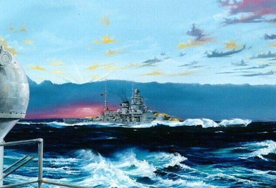 Wilson Randall. Линкор «Scharnhorst».
