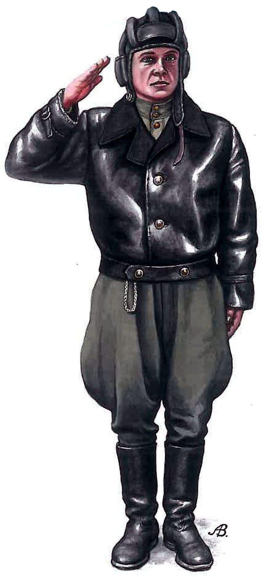 Bulczynki Arnold. Советский танкист.