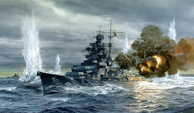 Freeman Tom. Линкор «Bismarck».