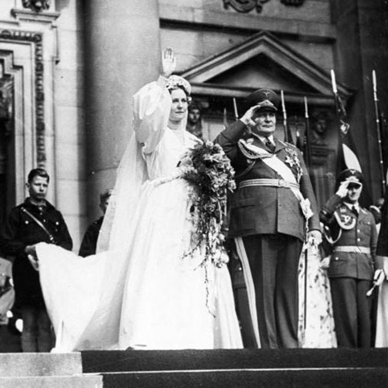 Свадьба Германа Геринга и Эммы.