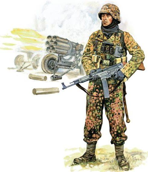 Szyzsko Marek. Немецкие солдаты.
