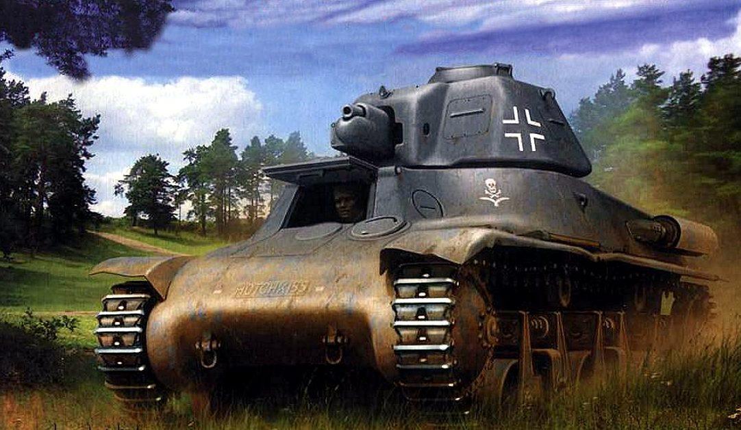 Wróbel Arkadiusz. Panzerkampfwagen 38-H 735(f).