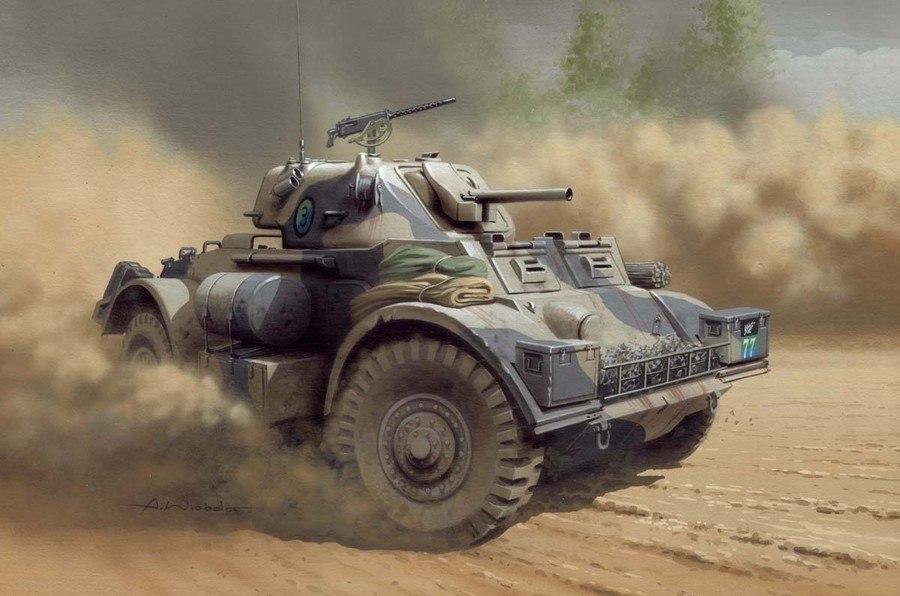 Wróbel Arkadiusz. Бронеавтомобиль Staghound Mk I.