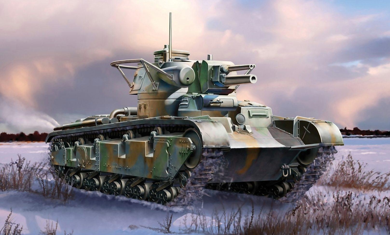 Auletta Vincenzo. Средний танк Neubau-Fahrzeug Nr.1.