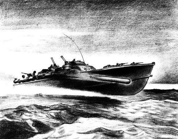 Barclay McClelland. Торпедный катер.