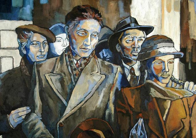 Dazzio Judith. Переезд в Варшавское гетто.