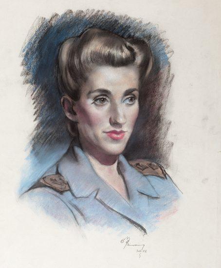 Mainwaring Geoffrey. Лейтенант Marjorie Trott.