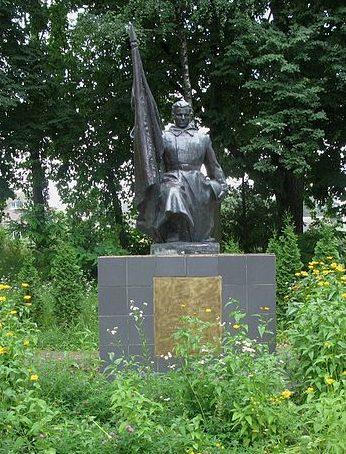 с. Малютянка Киево-Святошинского р-на. Памятник по улице Танкистов, установленный в 1968 году на братской могиле советских воинов.