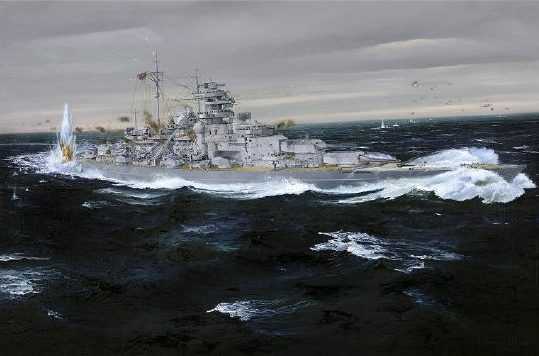 Wilson Randall. Линкор «Bismarck».
