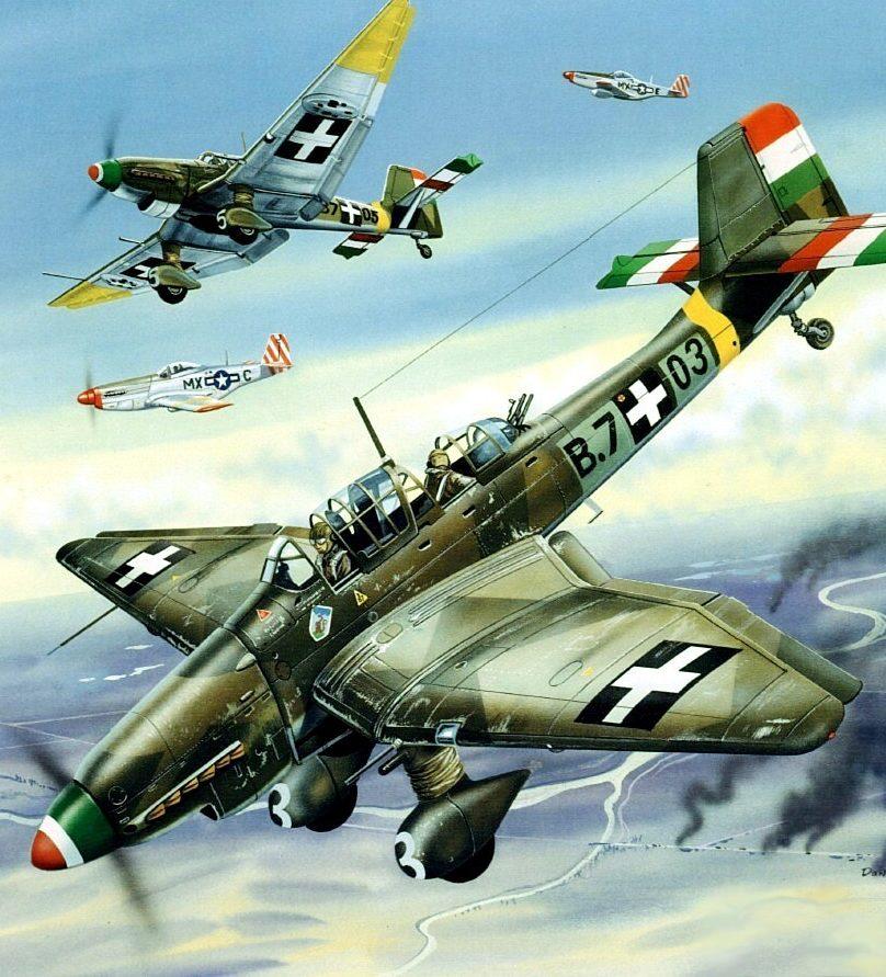 Greer Don. Бомбардировщик «Stuka».