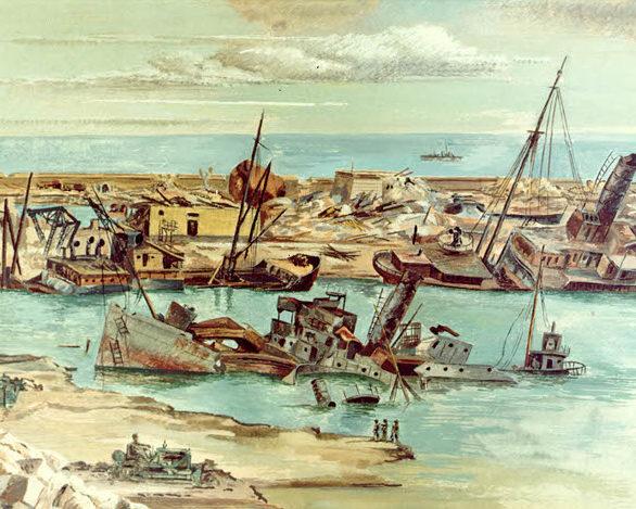 Mactarian Ludwig. Разрушенный порт.