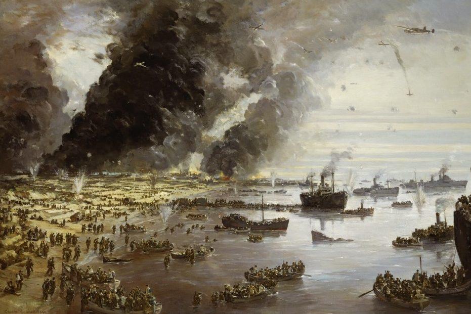 Дюнкерк. Картина Чарльза Эрнеста Кандалла.