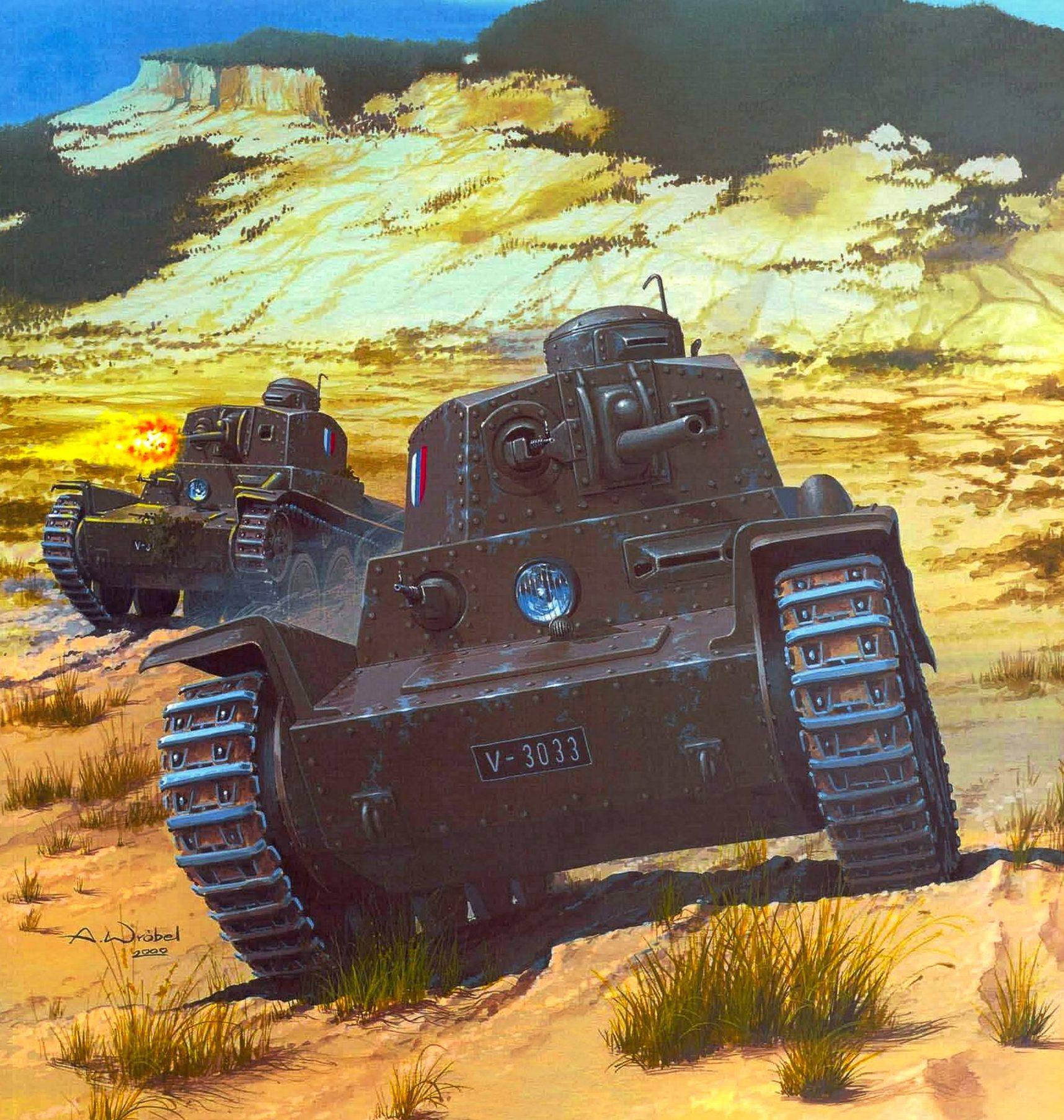 Wróbel Arkadiusz. Танк LT-40.