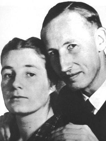 Лина и Рейнхард Гейдрих.