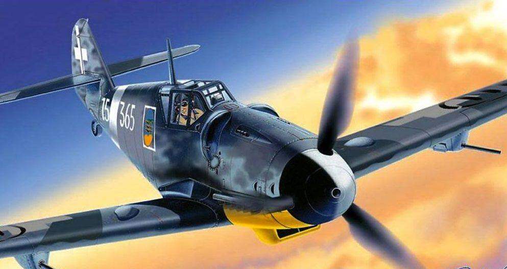 Giovanni Paulli. Истребитель Bf-109G-6.