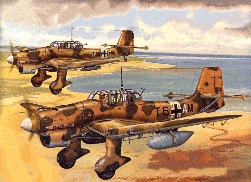 Greer Don. Бомбардировщик Ju-87.