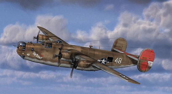Jackson Dale. Бомбардировщик В-24 «Liberator».