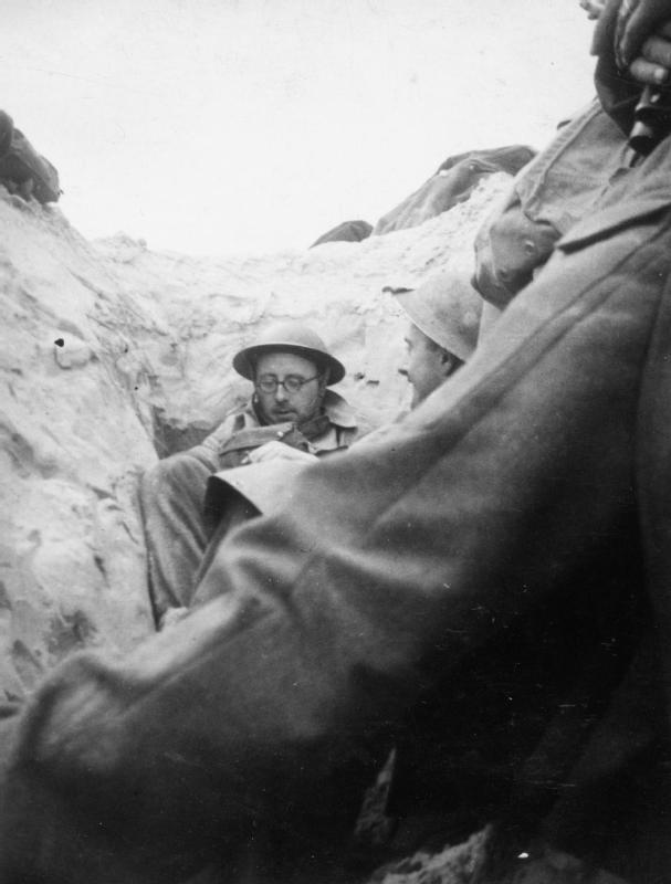 В ожидании эвакуации. Дюнкерк, май 1940 г.