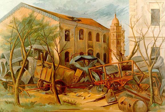 Mactarian Ludwig. Разрушенный город.