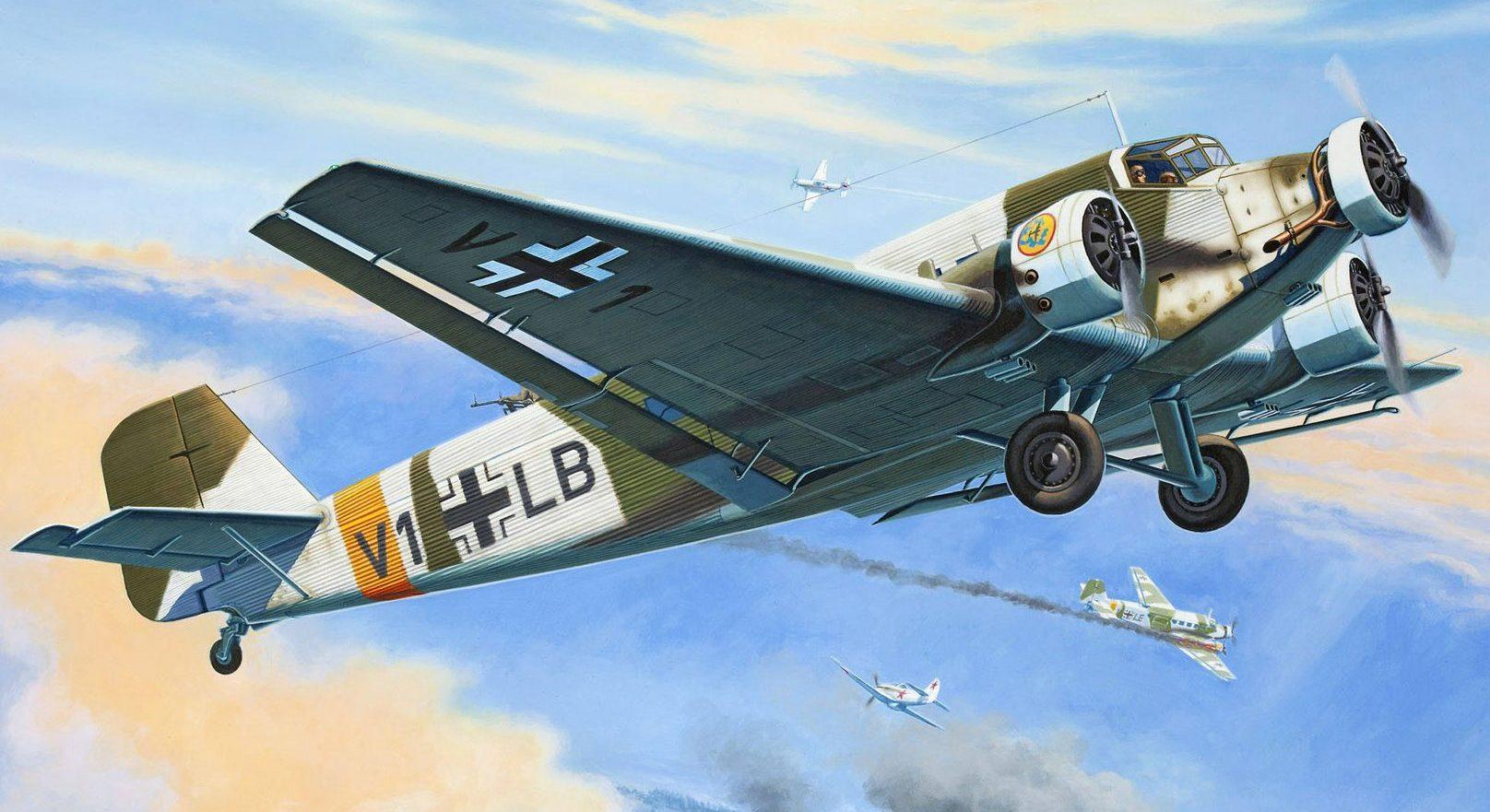 Deredos Andrzej. Транспортный самолет Junkers Ju-52.