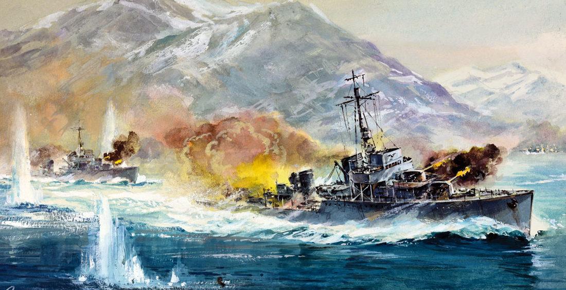 Werka Adam. Эсминец «Narvik».