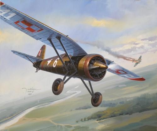 Wrobel Jaroslaw. Воздушный бой.