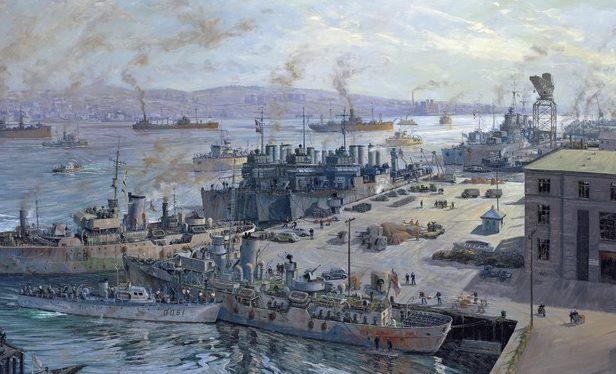 Horton John. Военно-морская база.